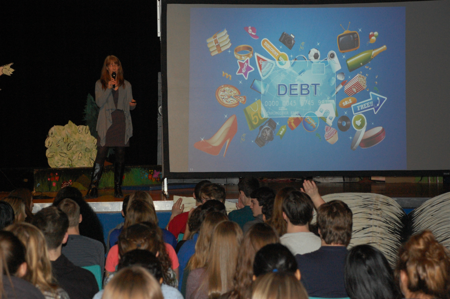MFS helps to educate high school students