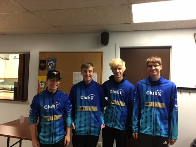 Sponsorship of U18 Men's Competitive Curling Team